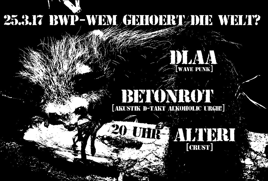 Konzert BWP 25032017