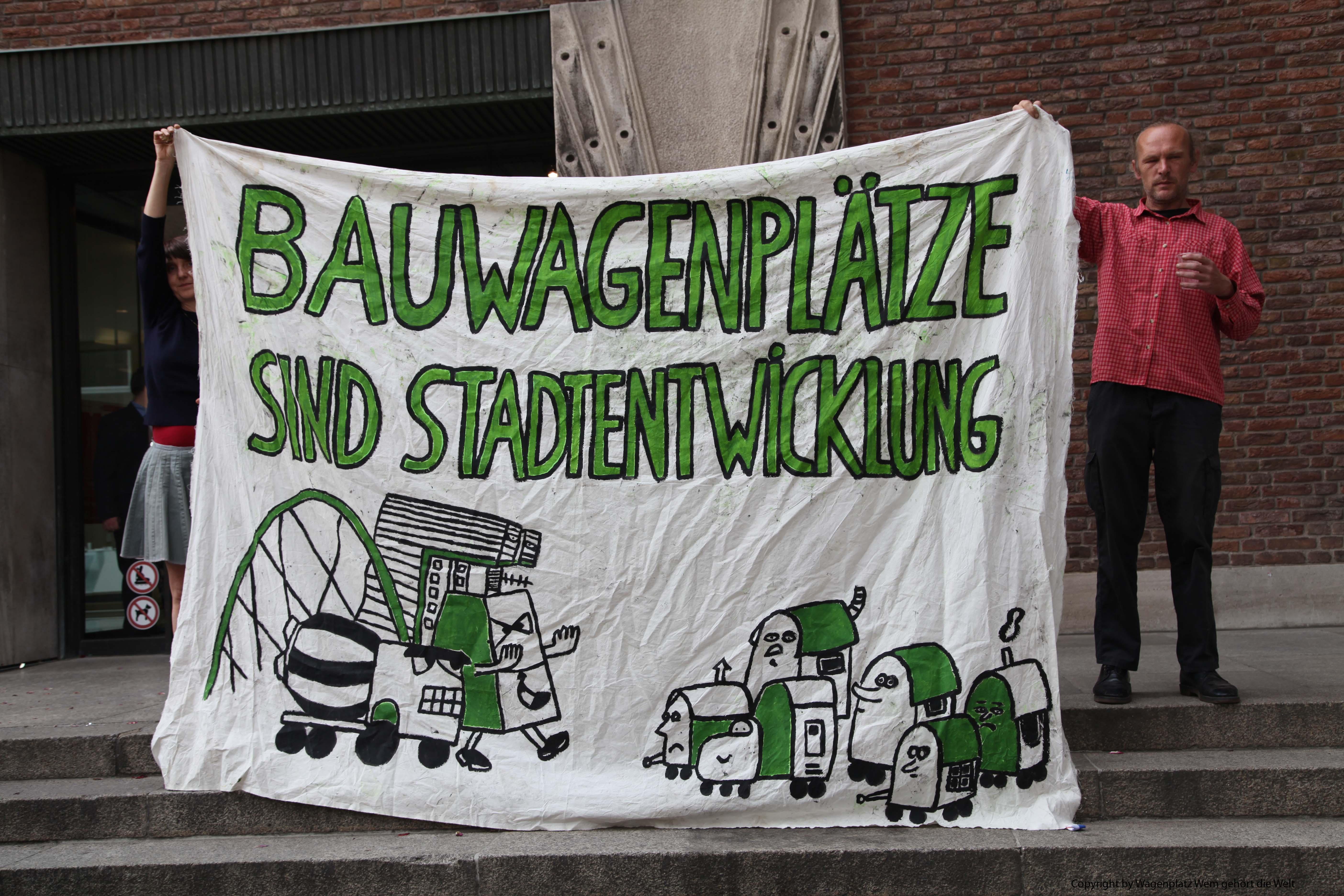 Transparent Wagenplatz Stek