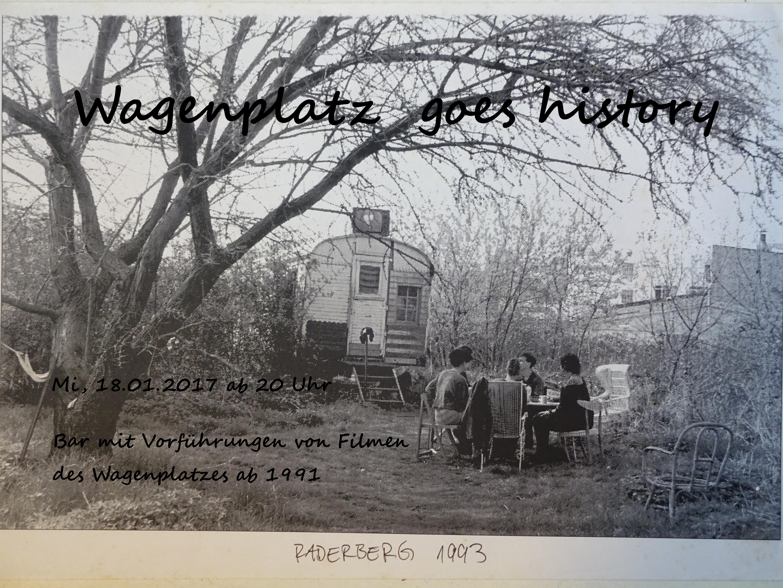 Wagenplatz goer history 2